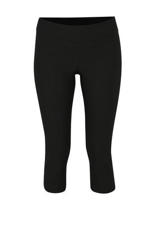 Černé regular 3/4 kalhoty Yest