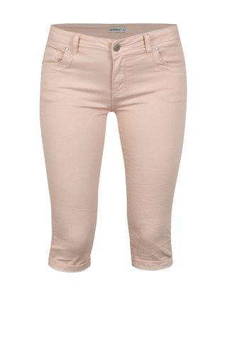 Růžové džínové 3/4 kalhoty Haily´s Jenna