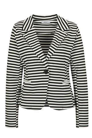 Bílo-černé pruhované sako Haily´s Femke