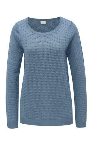 Modrý vzorovaný svetr VILA Sarafina