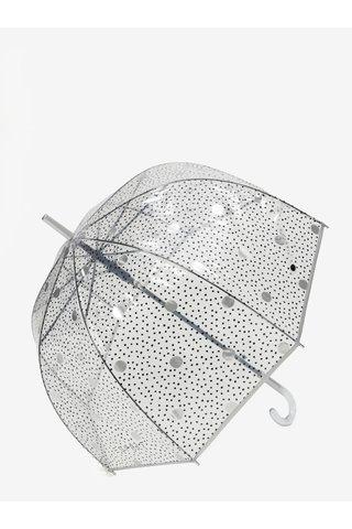 Umbrela transparenta cu picatele tip cupola Esprit Lether dance