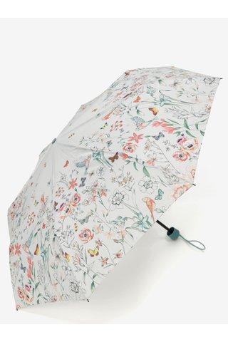 Umbrela gri deschis cu model floral Esprit Super mini Valentine
