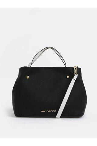 Bílá-černá kabelka Fornarina Fiona