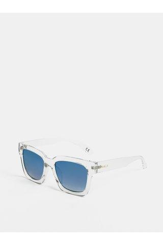 Světle šedé transparentní sluneční brýle Nalí