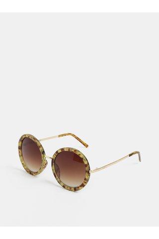 Ochelari de soare rotunzi tortoise Nali