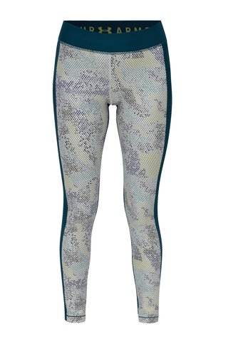 Leggings de dama sport verde inchis cu model Under Armour