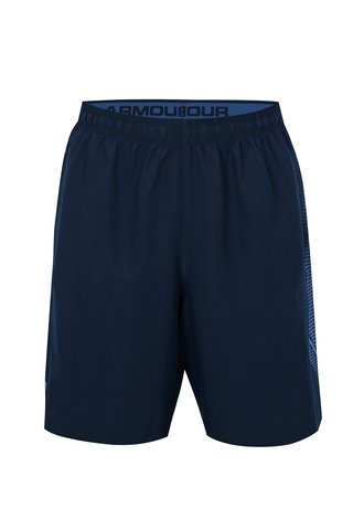 Pantaloni barbatesti scurti sport albastru inchis Under Armour