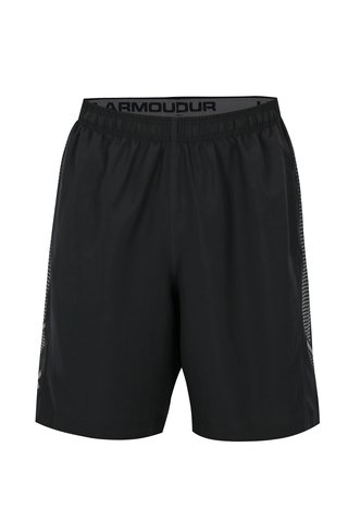 Pantaloni barbatesti scurti sport negri Under Armour