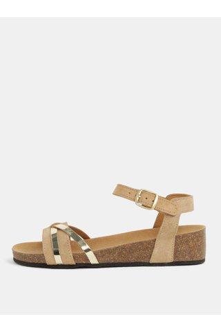 Sandale de dama ortopedice maro din piele intoarsa Scholl Kelly