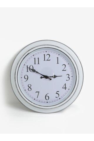Ceas de perete alb SIFCON