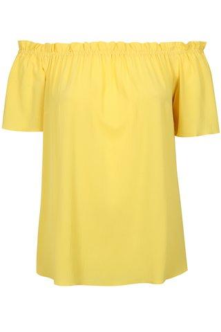 Bluza galbena cu umerii cazuti Dorothy Perkins Curve
