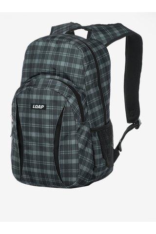 Šedo-černý vzorovaný batoh LOAP Asso 20 l