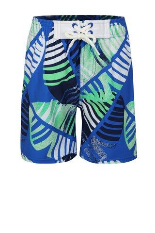Zeleno-modré klučičí vzorované plavky Reima Biitzi