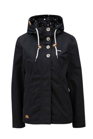 Jacheta de dama neagra cu gluga Ragwear Lynx