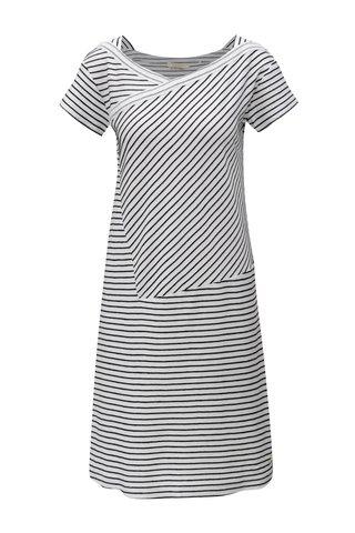 Rochie negru-alb in dungi Skunkfunk