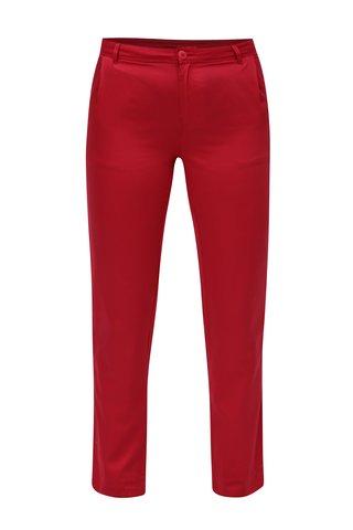 Pantaloni chino rosii Skunkfunk
