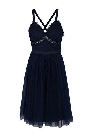Rochie albastru inchis Chi Chi London Sasha