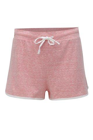 Pantaloni scurti roz melanj Dorothy Perkins