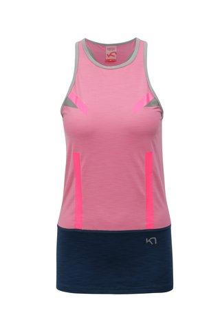 Top sport albastru-roz Kari Traa Anita
