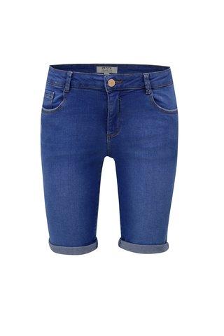 Pantaloni albastri scurti Dorothy Perkins Petite