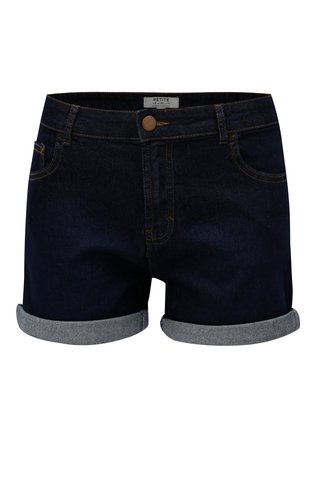 Pantaloni scurti albastru inchis Dorothy Perkins Petite