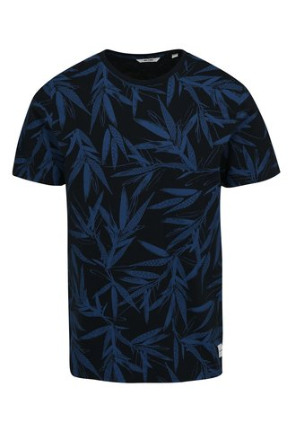 Tmavě modré vzorované tričko ONLY & SONS Chris