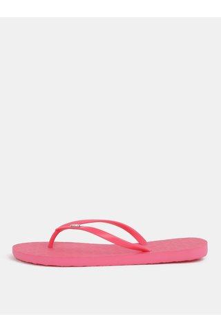 Papuci de dama flip-flop roz Roxy Viva