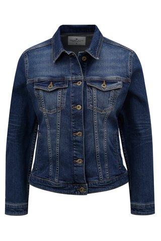 Jacheta de dama albastra din denim - Cross Jeans