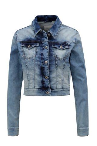 Jacheta de dama elastica albastru deschis din denim - Cross Jeans