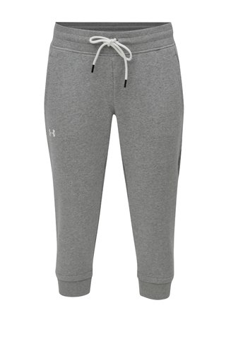 Pantaloni de dama sport 3/4  gri deschis Under Armour Crop