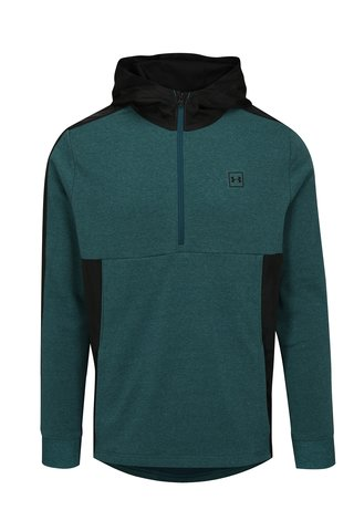 Hanorac barbatesc functional negru-verde melanj Under Armour Threadborne