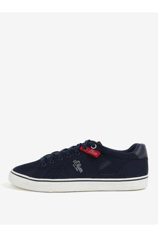 Pantofi sport albastru inchis pentru barbati - s.Oliver