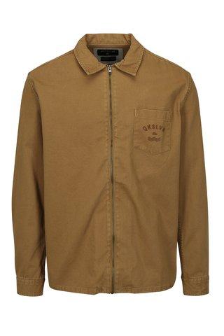 Jacheta barbatesca maro din denim Quiksilver