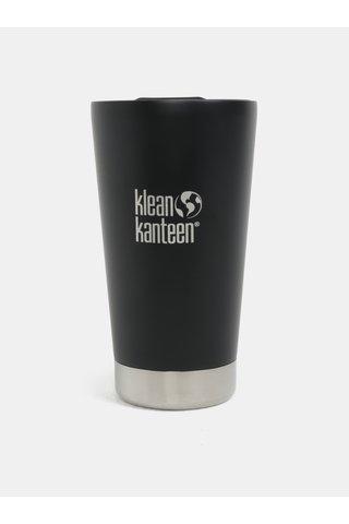 Cana termos neagra Klean Kanteen 473 ml