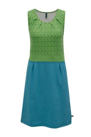 Rochie verde-turcoaz Tranquillo Irina