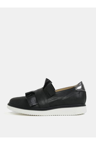 Pantofi negri slip on pentru femei - Geox Thymar