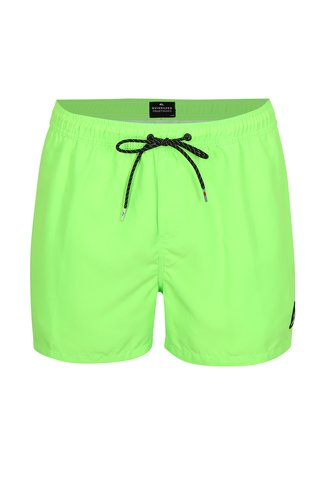 Neonově zelené pánské plavky Quiksilver
