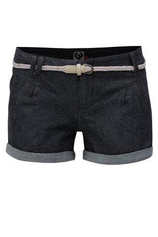 Pantaloni scurti de dama albastru inchis din denim Ragwear Heaven