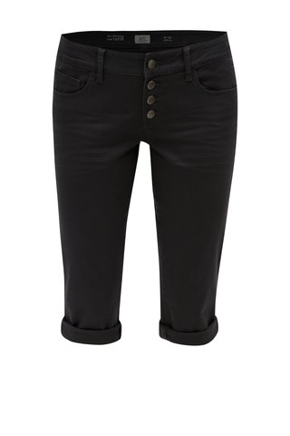 Pantaloni 3/4 gri inchis slim fit din denim - s.Oliver