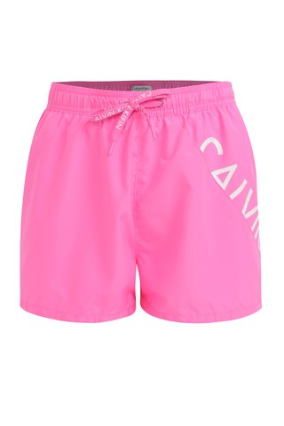 Růžové pánské plavky Calvin Klein