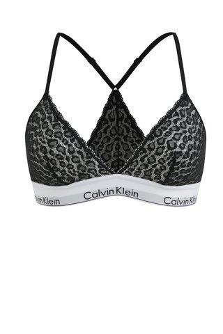 Černá krajková podprsenka Calvin Klein