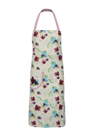 Sort de bucatarie alb-mov cu motiv floral Cooksmart