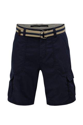 Pantaloni scurti barbatesti regular fit albastru inchis cu curea O'Neill Point Break