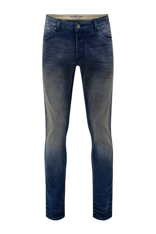 Blugi regular slim fit albastru Dstrezzed