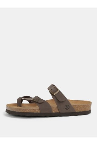Papuci maro pentru femei - OJJU Dublin