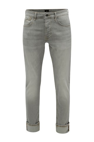 Blugi barbatesti regular gri deschis din denim Pepe Jeans Zinc