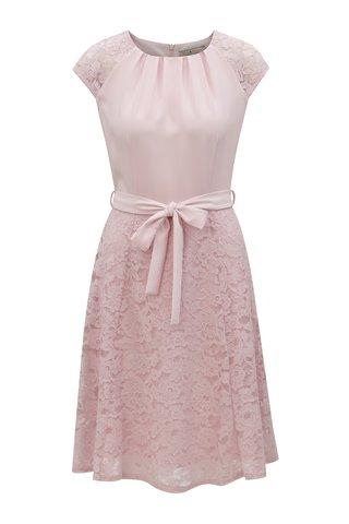 Rochie rosie din dantela cu cordon Billie & Blossom