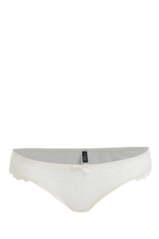 Krémové krajkové kalhotky ICÔNE Mimosa