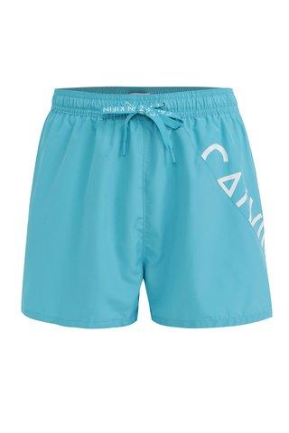 Pantaloni scurti de baie albastru deschis Calvin Klein