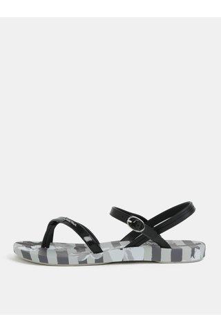 Sandale negru-gri cu model Ipanema Fashion Sand